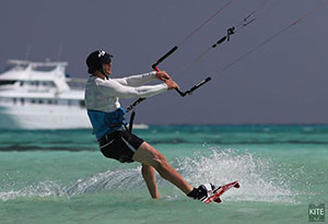 Red Sea kitesurfing